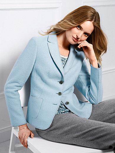 Basler - Le blazer en pure laine vierge foulée
