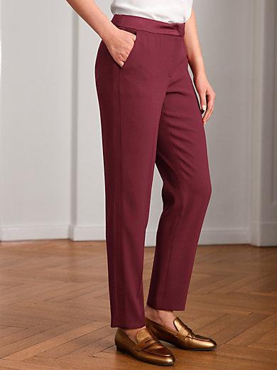 Basler - Le pantalon 7/8, ligne confort, empiècements satin
