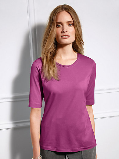 Basler - Le T-shirt, encolure dégagée et manches aux coudes