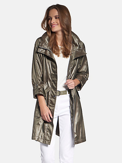 Basler - Long-Jacke mit integrierter Kapuze