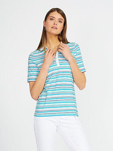 Basler - Polo-Shirt mit Web-Kragen