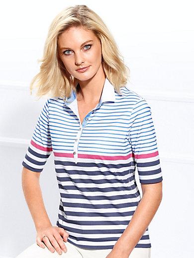 Basler - Poloshirt met verlengde korte mouwen