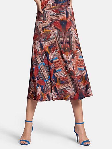 Basler - Pull-on jersey skirt