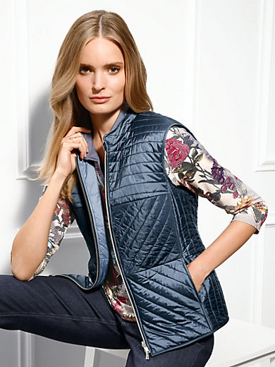 Basler - Reversible quilted waistcoat