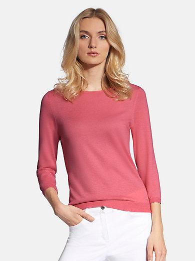 Basler - Round neck jumper in 100% cashmere