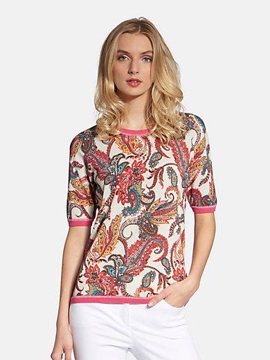 Basler - Round neck jumper with short sleeves