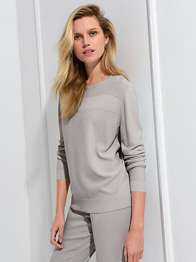 Basler - Rundhals-Pullover mit 1/1-Arm