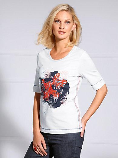 Basler - Shirt, langem 1/2-Arm und kontrast Overlook-Nähten
