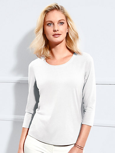 Basler - Shirt met ronde hals en 3/4 mouwen