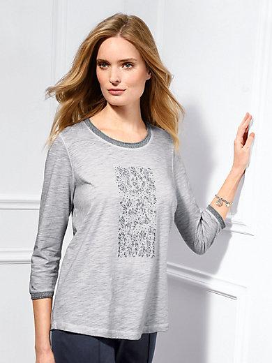 Basler - Shirt met ronde hals en 3/4-mouwen