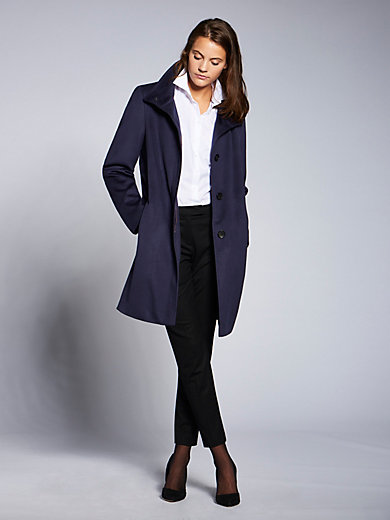 Basler - Short coat with a raised collar