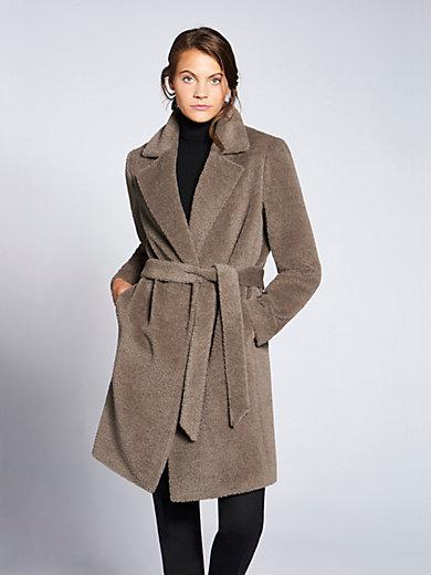 Basler - Short coat with a striking revers collar