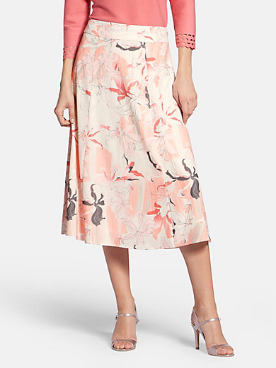 Basler - Skirt with orchid print