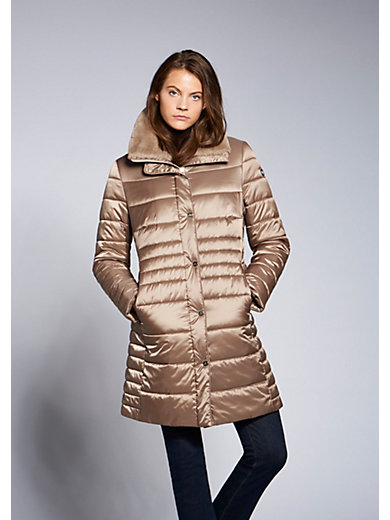 Basler - Thermofleece-Long-Steppjacke