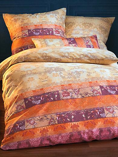 bassetti bettw sche garnitur ghirlandaio ca 135x200cm sand burgund. Black Bedroom Furniture Sets. Home Design Ideas