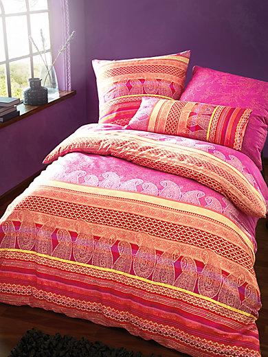 bassetti bettw sche garnitur tiziano ca 155x220cm fuchsia rot. Black Bedroom Furniture Sets. Home Design Ideas