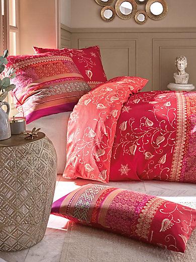 bassetti taie d 39 oreiller 80x80 housse de couette 135x rouge multicolore. Black Bedroom Furniture Sets. Home Design Ideas