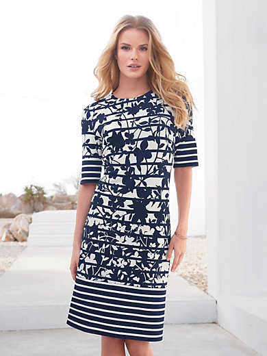 Betty Barclay - Jersey dress with longer 1/2-length sleeves