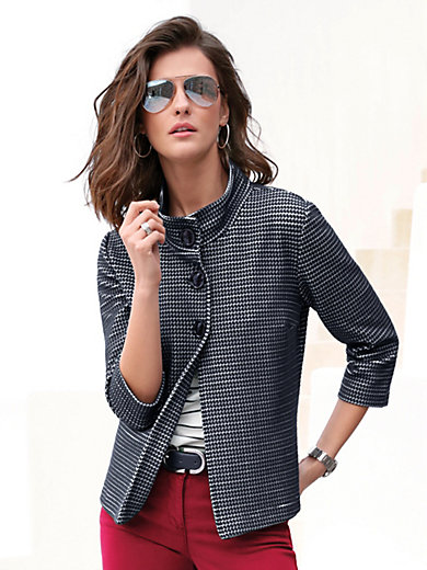 Betty Barclay - Jersey jacket with 3/4-length sleeves