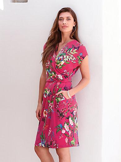 kaufen outlet erstklassige Qualität Jersey-Kleid mit überschnittener Schulter