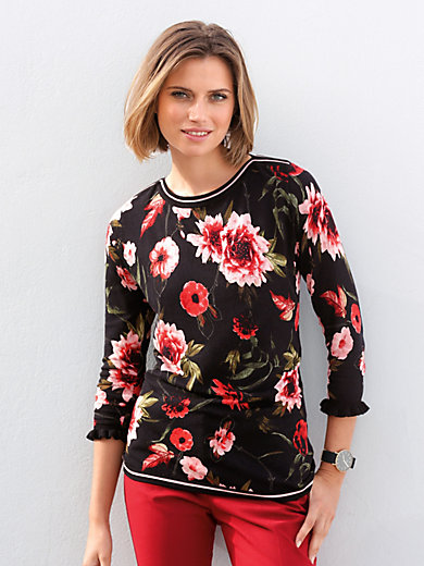 Betty Barclay - Jumper with boat neck and 3/4-length sleeves