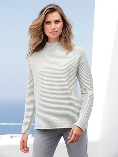Betty Barclay - Jumper with raglan sleeves and stand-up collar