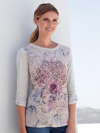 Betty Barclay - Shirt met ronde hals en driekwartmouwen