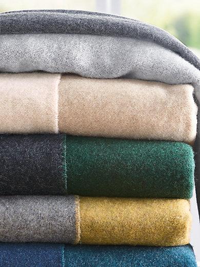 Biederlack - Plaid mit Wolle und Kaschmir