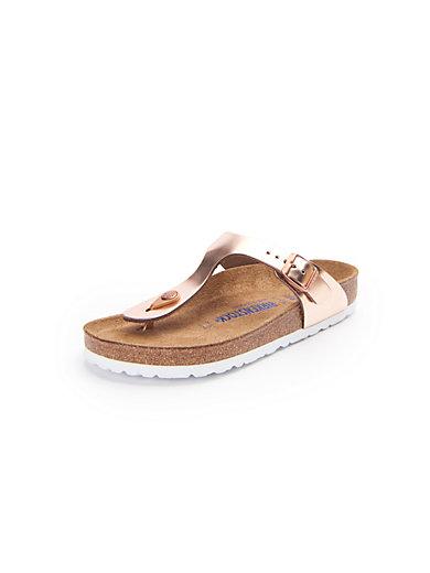 833efc3a05ab Birkenstock -  Gizeh  thong sandals - pale pink metallic