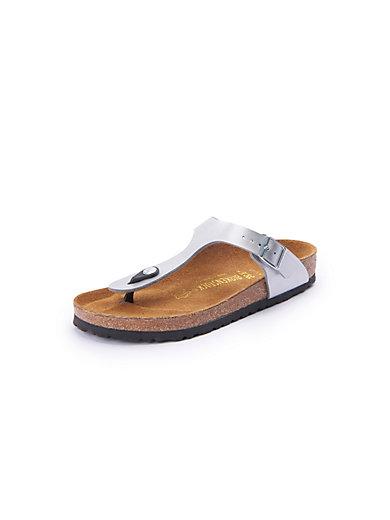 d2269ba181fe Birkenstock -  Gizeh  thong sandals - silver