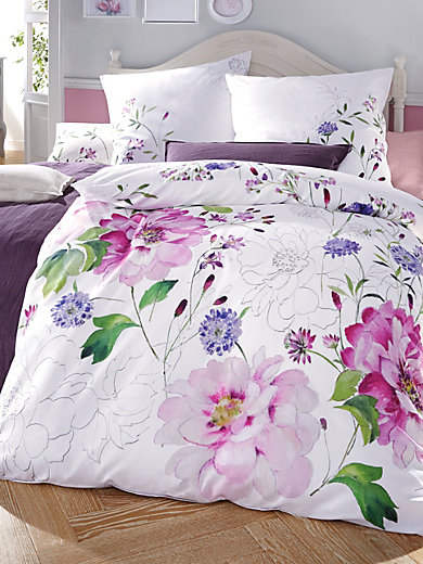 bleyle la housse de couette bleyle 100 coton 155x220 cm cru mauve. Black Bedroom Furniture Sets. Home Design Ideas
