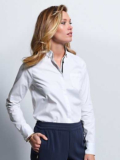 Bogner - Blouse with a concealed button band