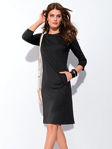 Bogner - Jersey dress with 3/4-length sleeves