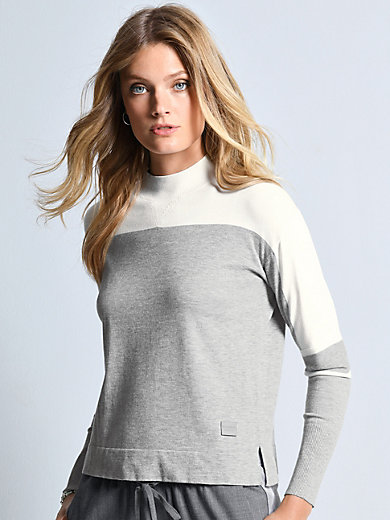 Bogner - Jumper with ribbed stand-up collar