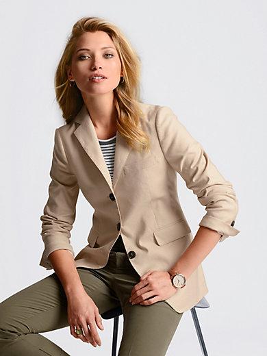 Bogner - Le blazer en coton et lin, ligne cintrée