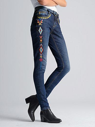 Bogner - Le jean à broderies ethniques