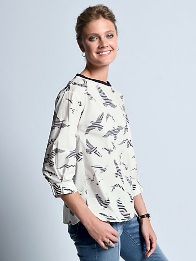 Bogner - Pull-on top with 3/4-length sleeves
