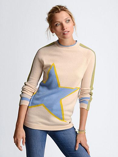 Bogner - Round neck jumper in 100% new milled wool