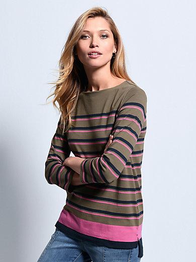 Bogner - Shirt met boothals en 3/4 mouwen