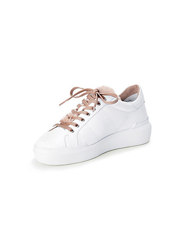 Bogner - Sneaker aus 100% Leder und Webpelz-Besatz