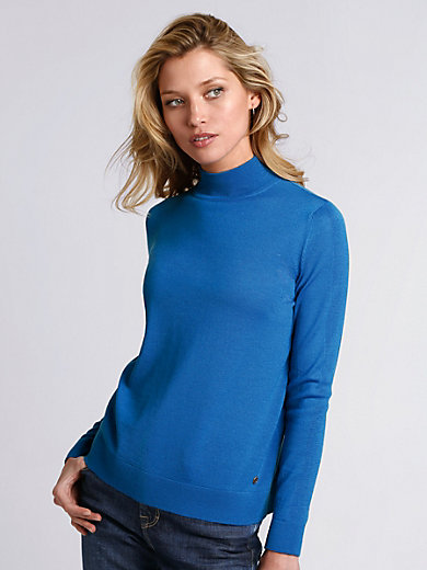 Bogner - Strikbluse 100% ren ny uld