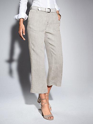 Brax Feel Good - 7/8-length trousers in 100% linen