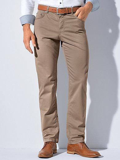 Comfortable Fit trousers - design COOPER FANCY Brax Feel Good green Brax BUftDV