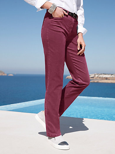 Brax Feel Good - Feincord-Hose Modell CAROLA Feminine Fit
