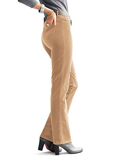 "Brax Feel Good - ""Feminine Fit"" velveteen trousers - Design CAROLA"