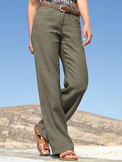 Brax Feel Good - Housut puhdasta pellavaa, FARINA-malli