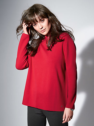 Brax Feel Good - Jumper in boxy shape with raised collar