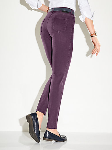 d894565a2e Brax Feel Good - Le jean - aubergine denim