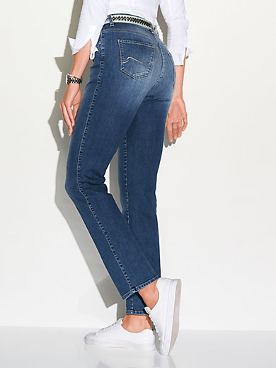 Brax Le jean Feminine Fit, modèle CAROLA CRYSTAL Feel Good
