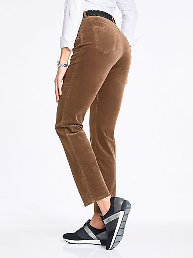 Brax Feel Good - Le pantalon en velours Feminine Fit, modèle CAROLA